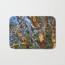 MADRONA TREE DEAD OR ALIVE Bath Mat