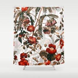 Vintage Garden III Shower Curtain