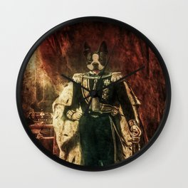 The King of Boston by Guido Prussia Wall Clock