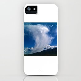Cloud Ascending to Eternity iPhone Case