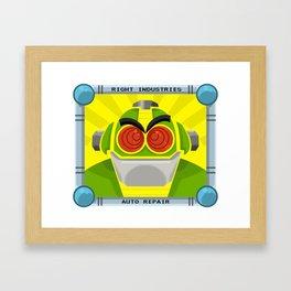 AUTO Select Framed Art Print