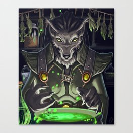 Brewing Potions Canvas Print