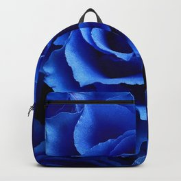 Blue Roses Flowers Plant Romance Backpack