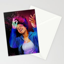 Feelin' the Music Stationery Cards