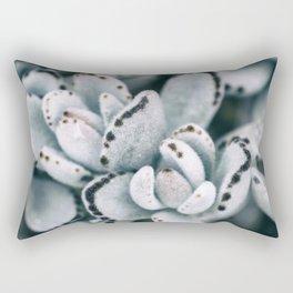 Blue soft and delicate cactus Rectangular Pillow