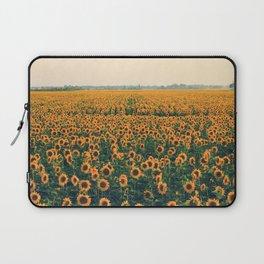 Field Of Sunflowers Laptop Sleeve
