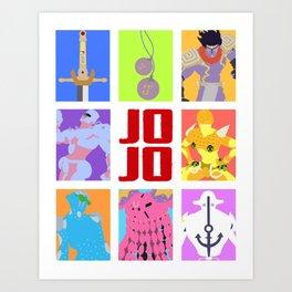 Jojolion Art Prints | Society6