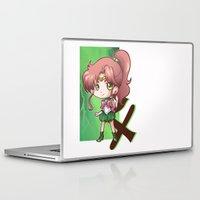 sailor jupiter Laptop & iPad Skins featuring Jupiter by Lady Cibia