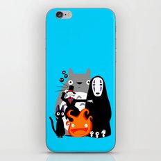 Ghibli'd Away iPhone & iPod Skin