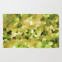 camouflage Area & Throw Rugs featuring Camouflage by Elizabeth