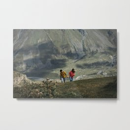 Meet Georgia Metal Print