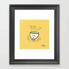 Genmaicha Tea Framed Art Print