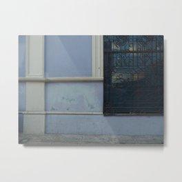 Merida Window Reflection Metal Print