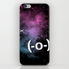 Typospacechase iPhone & iPod Skin
