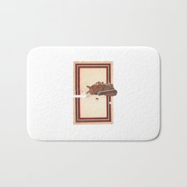 Torn Around — Bulldozer Bath Mat