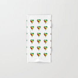 Flag of Guyana 2  -Guyanese,Guyanes,Georgetown,Linden,Waiwai Hand & Bath Towel