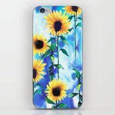 Sunflower Sky iPhone & iPod Skin