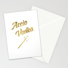 Accio Vodka Stationery Cards