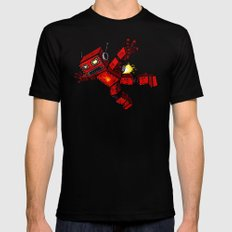 Incinertron Black LARGE Mens Fitted Tee