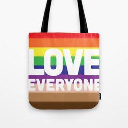 Love Everyone Flag Tote Bag