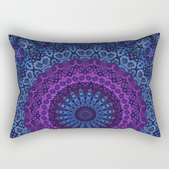 Twilight Mandala Rectangular Pillow