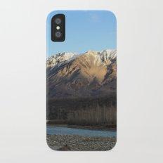 Blue Creek, Alaska Slim Case iPhone X
