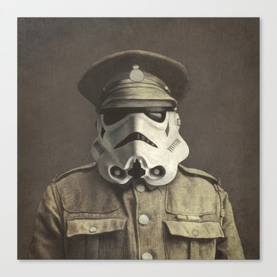 Sgt. Stormley - square format Canvas Print