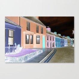 street of neon Canvas Print