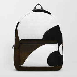 Yin and Yang - Brown Backpack