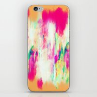 sia iPhone & iPod Skins featuring Electric Haze by Amy Sia