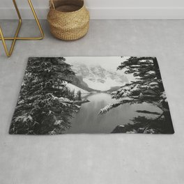The View (Black and White) Rug