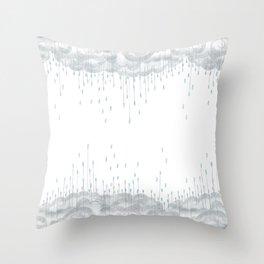 Rainy Day Throw Pillow