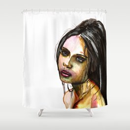 Look at Me Shower Curtain