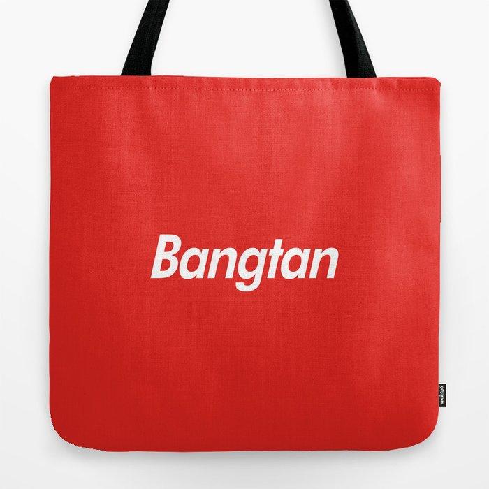 BTS Bangtan Box Logo Tote Bag by kpopsupply