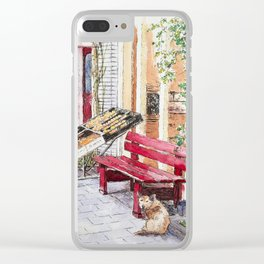 De Aanzet and the Dog Clear iPhone Case