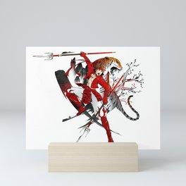 Yukimura Sanada - Tiger Mini Art Print
