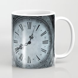 Silver Steampunk Clockwork Coffee Mug