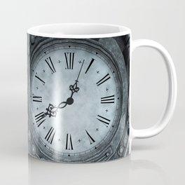 Silver Steampunk Clockwork Coffee Mug