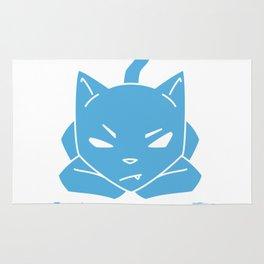 #MOOD Cat Blue Rug