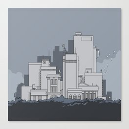 City #5 Canvas Print
