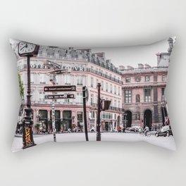 Time in Paris Rectangular Pillow