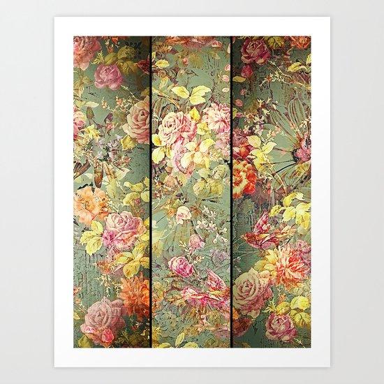 Chinoiserie Art Print