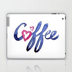 Coffee Lover Typography Laptop & iPad Skin