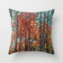 Winter is Nigh Throw Pillow