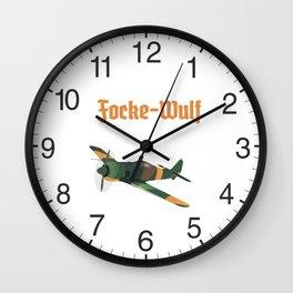 Focke-Wulf Fw 190 German WWII Airplane Wall Clock