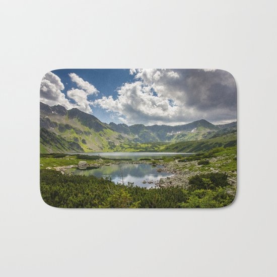 Mountain Lakes Bath Mat