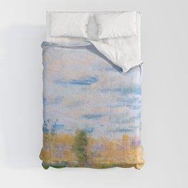 Meadow Weeds - Arthur Bowen Davies Comforters
