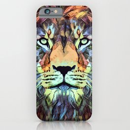 King of the Jungle Original Artwork iPhone Case