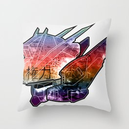 Gundam Art Throw Pillow