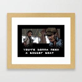 Smile You Son of a Pixel! Framed Art Print